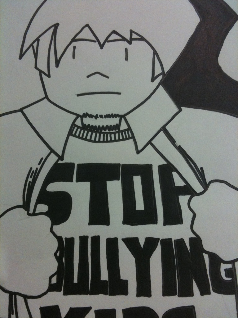 Stop bullying kids.