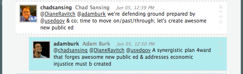 A conversation with Diane Ravitch et al.