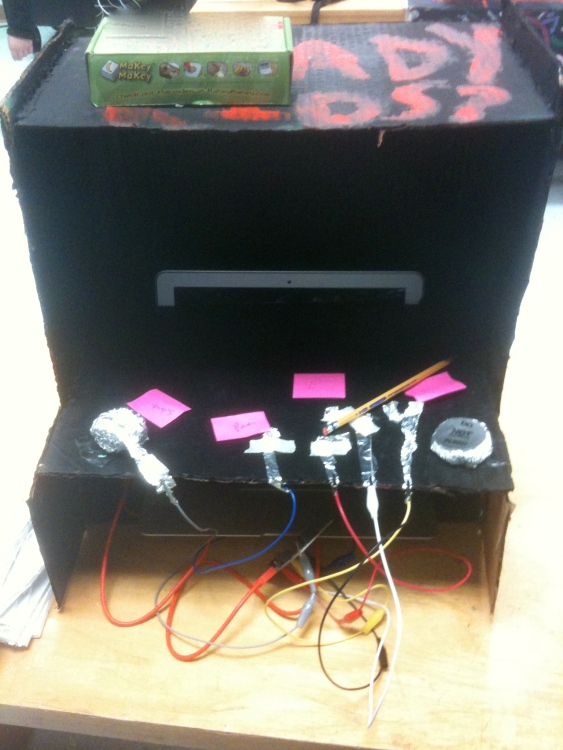 A punk arcade cabinet in the works