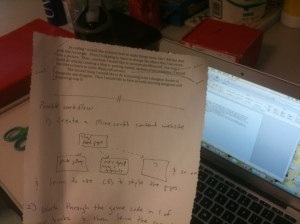 Revising a contract for building a website and running an RPG